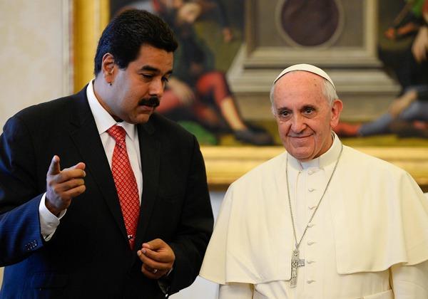 EL PAPA RECIBE AL PRESIDENTE DE VENEZUELA
