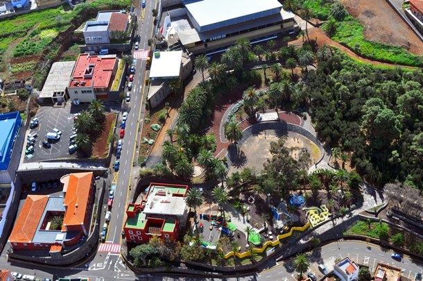 La Victoria Parque el Pinar pabellón terrero de lucha