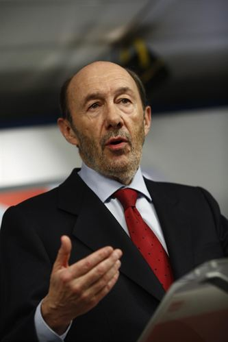 Alfredo Pérez Rubalcaba aún no ha tomado una decisión en relación a las primarias del PSOE