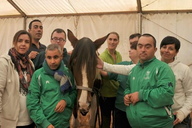 terapia asistida por caballos Club Hípico Altoanna, en El Rosario