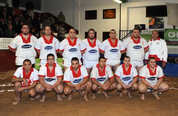 El Tijarafe Fonteide cuajó una excelente actuación ante el Punta Brava, en luchada de rivalidad zonal. | PEDRO YUSTA