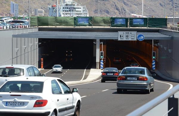 túnel vía litoral de santa cruz