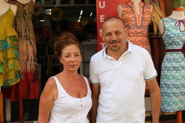 Carlos Magdaleno y ana