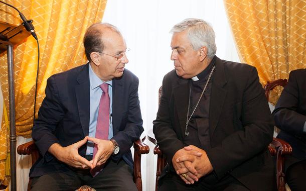 Bernardo Álvarez y José Miguel Márquez