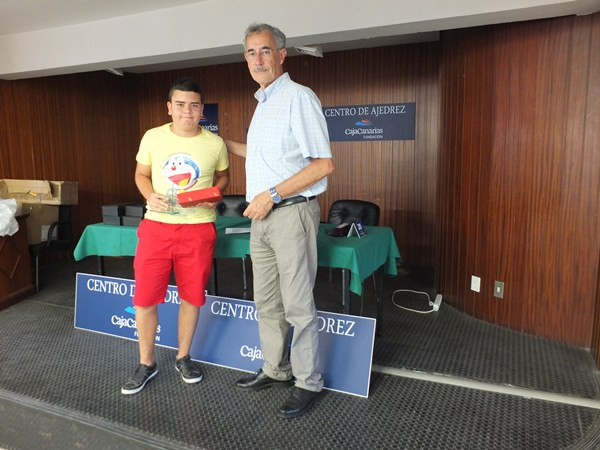 Daniel Guerra ajedrez