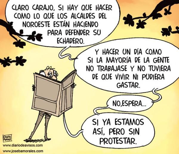 Defendiendo el echadero - Por Joseba Morales