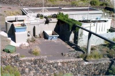 Estación Depuradora de las Aguas Residuales Comarcal del Valle de Güímar en La Hidalga (Arafo)