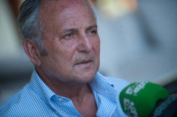 El presidente del PNC, Juan Manuel García Ramos, ha defendido hoy que el alcalde de La Laguna, Fernando Clavijo, sea el próximo candidato de CC-PNC . / FRAN PALLERO