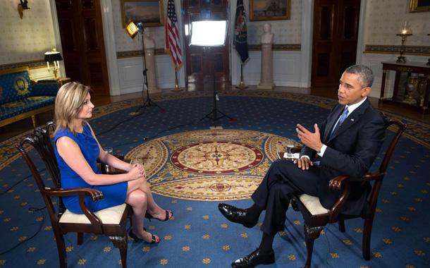 María Rozman entrevista Obama