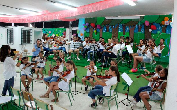 Orquesta infantil CEIP La Vera