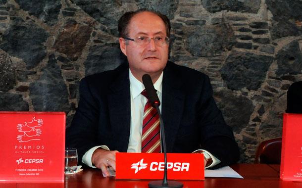 Salvador García, director de la refinería de Santa Cruz de Tenerife