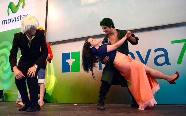 Los participantes escenificaron lo mejor de sus personajes. / SERGIO MÉNDEZ