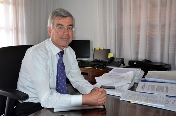 El alcalde Álvaro Dávila
