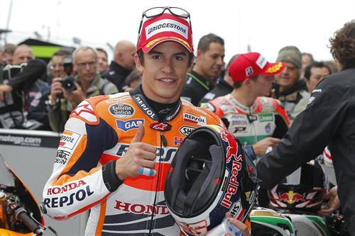 l piloto español de MotoGP Marc Márquez (Honda) ha conseguido este domingo la victoria en el Gran Premio de Alemania. / DA
