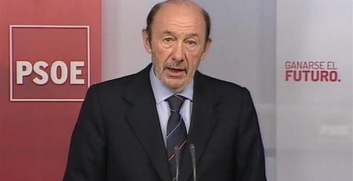 """El PSOE """"rompe relaciones"""" con el PP y pide la dimisión de Rajoy"""