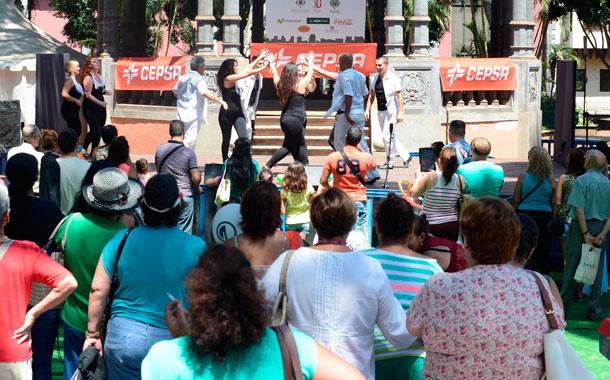 El Ayuntamiento puso en marcha cinco escenarios por todo el centro de la ciudad. / SERGIO MÉNDEZ
