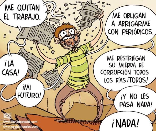 Y NO LES PASA NADA - JOSEBA MORALES