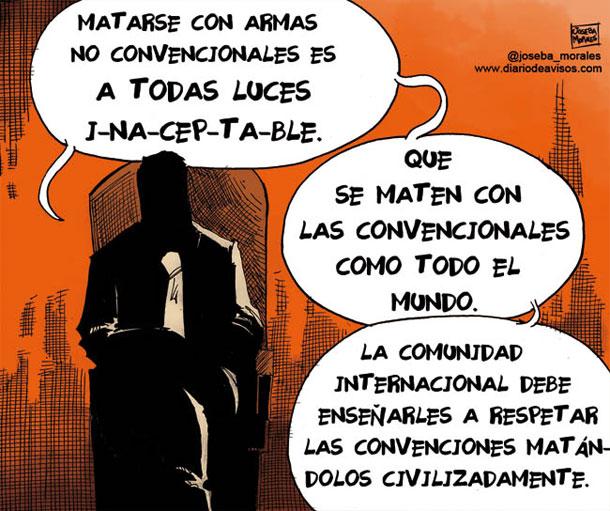 Armas no convencionales - Joseba Morales