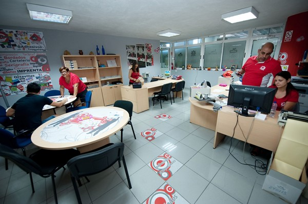 Oficinas administrativas de Bordacan. | FRAN PALLERO