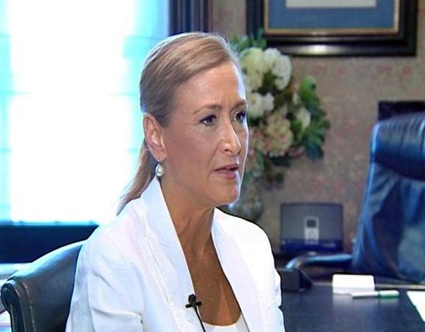 Cristina Cifuentes Delegada del Gobierno en Madrid