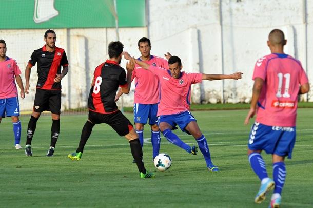 El Tenerife jugará el domingo ante el Alcorcón. | MOISÉS PÉREZ