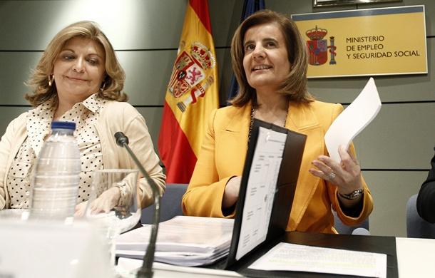 Fátima Báñez y Engracia Hidalgo