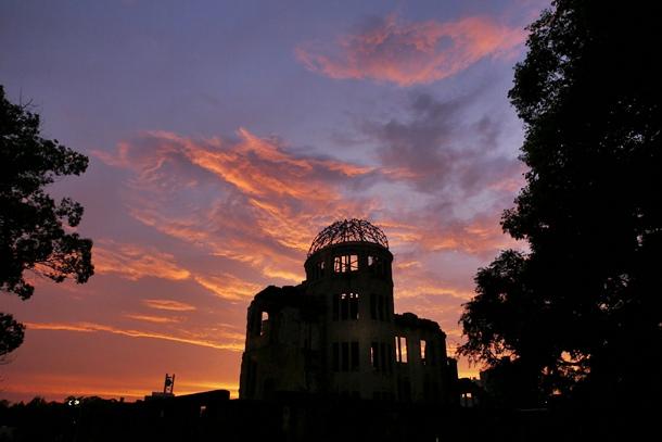 68 aniversario de la bomba atómica sobre Hiroshima (Japón)