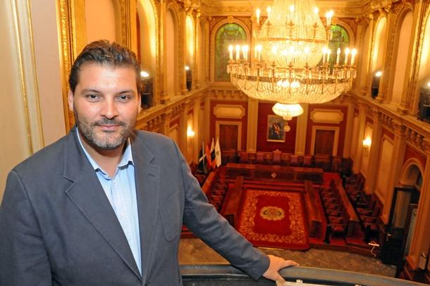 José Ángel Martín, concejal de Urbanismo de Santa Cruz. | DA