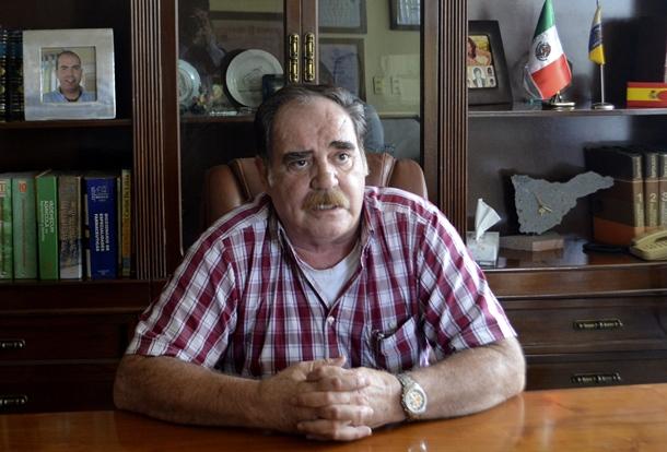 José Luis Crespo de las Casas padre del secuestrado en México
