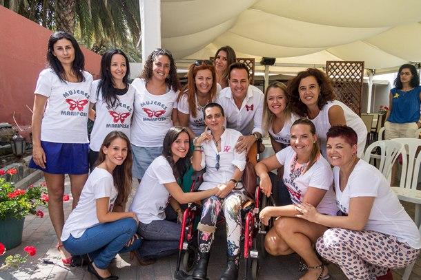 Mujeres Mariposa Esclerosis Multiple