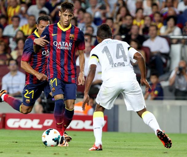 Neymar FC Barcelona Santos Trofeo Joan Gamper