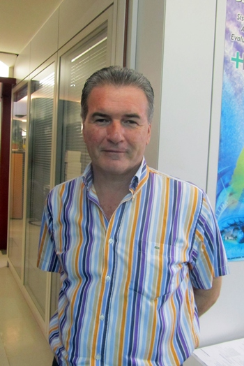 Pedro Ramos Negrín, presidente del PSOE de La Laguna.   DA