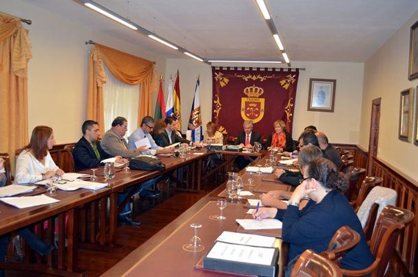 sesión plenaria Ayuntamiento Tacoronte
