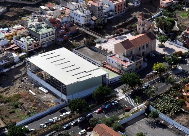 polideportivo del barrio portuense de La Vera