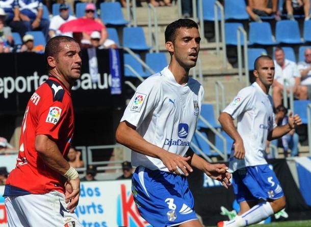Ricardo junto al uruguayo Walter Pandiani