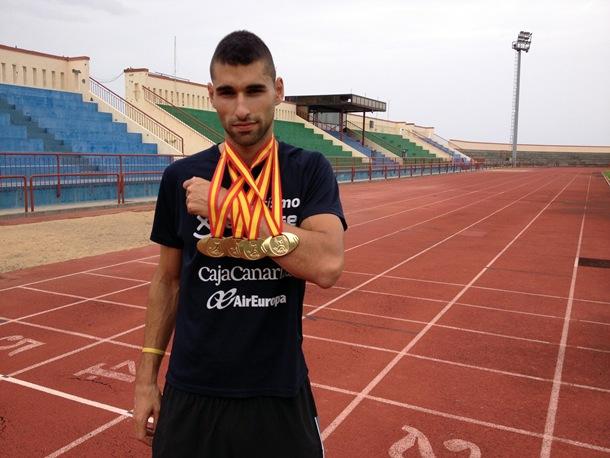 El atleta palmero Samuel García