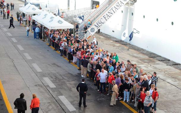 Turismo cruceros