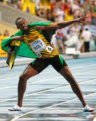 Usain Bolt Moscu 2013