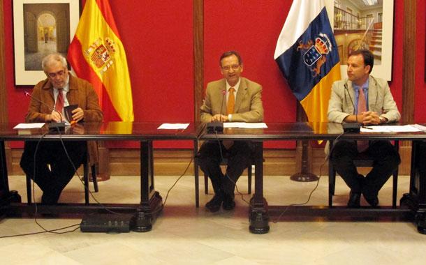 Manuel Aznar Vallejo, Antonio Castro Cordobez y José Ignacio Navarro Méndez