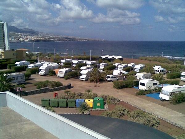 Punta del Hidalgo, camping