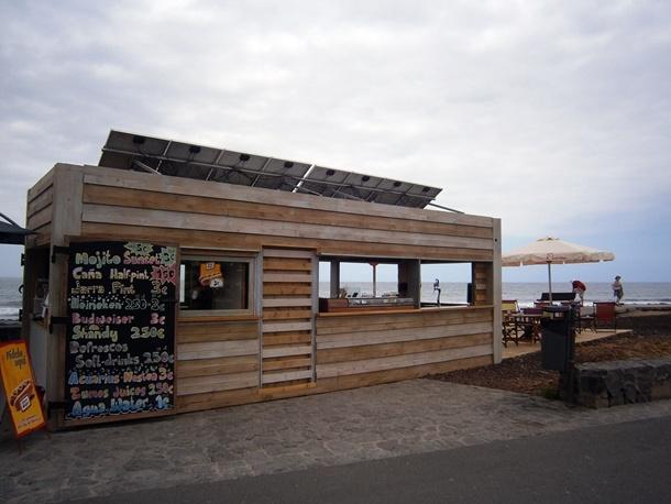 El chiringuito que funciona con el sol diario de avisos - Energia solar tenerife ...
