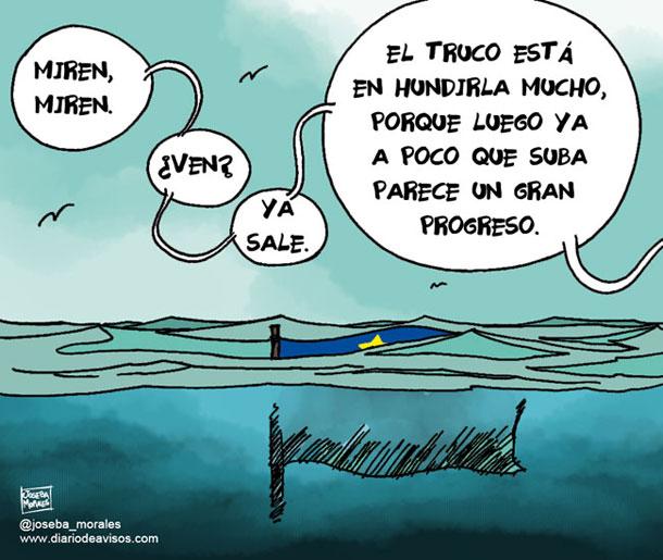 La eurozona sale de la recesión - Por Joseba Morales
