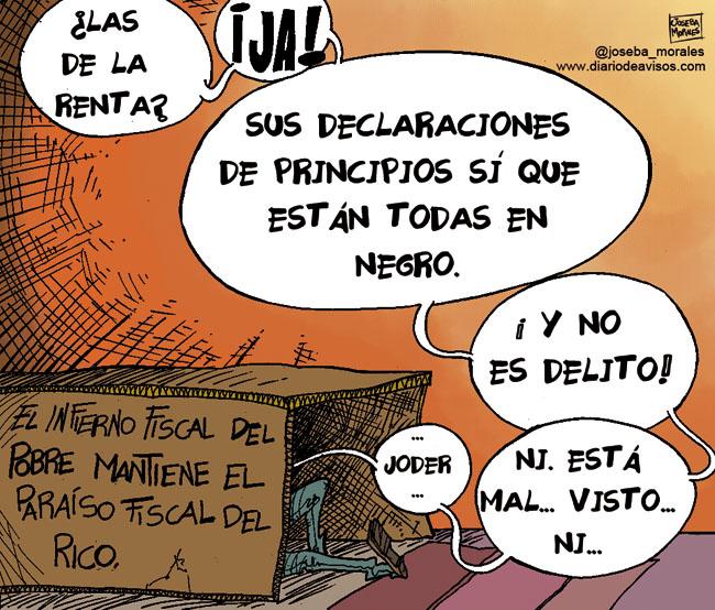 joseba Morales Declaraciones de principios