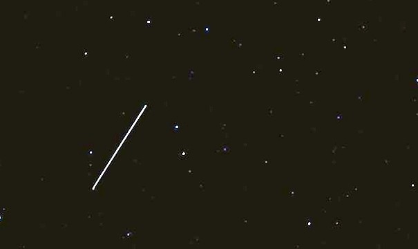 Un bólido cruzó este domingo el cielo cerca de Canarias a 15 kilómetros por segundo