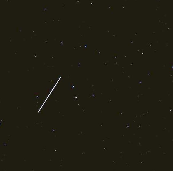 Meteorito bólido Canarias