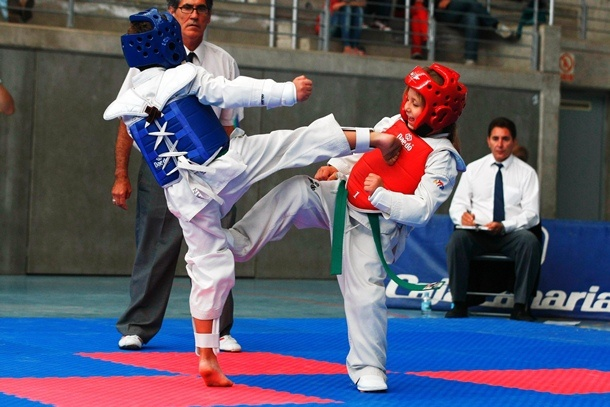 combate taekwondo base