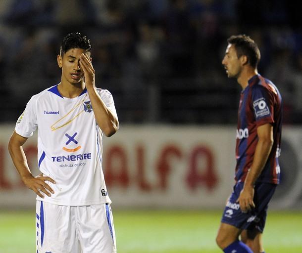 Ayoze Pérez, delantero del CD Tenerife