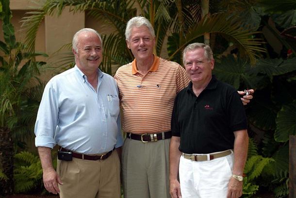 Bill Clinton y Ricardo Melchior