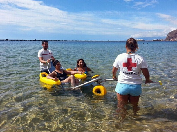 Cruz Roja Playa de Las Teresitas
