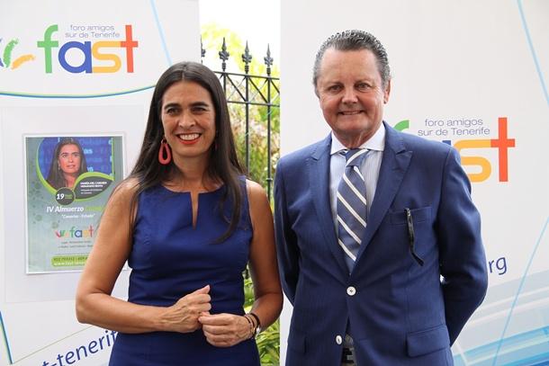 Fernando Cabrera (Fast) y María del Carmen Hernández Bento
